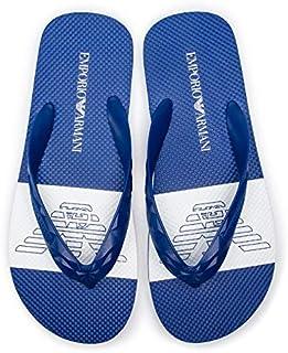 Emporio Armani Thong Slipper for Men Size 44 EU - Red
