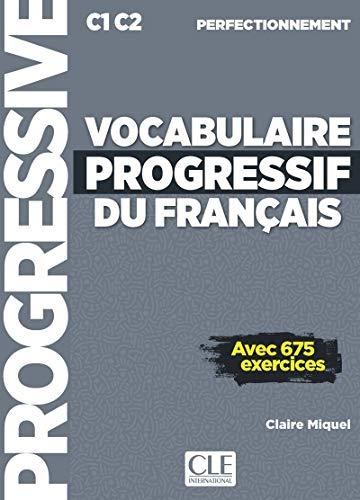 Vocabulaire progressif du français - Niveau perfectionnement - Livre + CD + Livre-web - Nouvelle couverture [Lingua francese]
