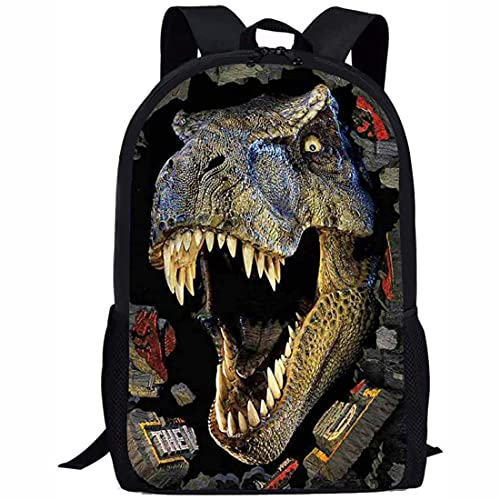 Mochila de dinosaurio para niños, mochila de escuela para niños, mochila con estampado de animales