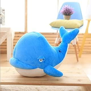 YYDWJD Plush Toy Blue Dolphin Puppet Festival Birthday Gift Mini Doll