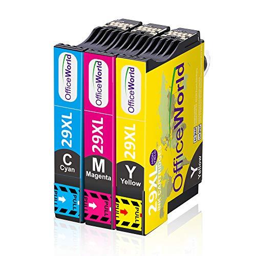 OfficeWorld 29 XL Sostituzione per Epson 29XL Cartucce d'inchiostro Compatibile con Epson Expression Home XP-235 XP-245 XP-247 XP-255 XP-332 XP-335 XP-345 XP-352 XP-355 XP-432 XP-442 XP-445 XP-452