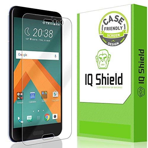 IQ Shield Screen Protector Compatible with HTC U11 (Case Friendly) LiquidSkin Anti-Bubble Clear Film