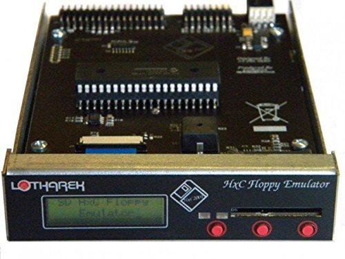 Sintech.DE Limited HxC SD Floppy Emulator Rev. F mit Gehäuse, schwarz