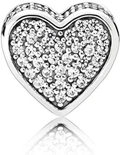 Sterling Silver Love Charm 796084CZ