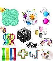 Fidget Toys Pack, Fidget Toys Sensory Toys Simple Dimple Fidget Toy for Soulager le Stress et l'anxiété, pour Enfants, Couples Cadeau