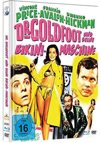Dr. Goldfoot und seine Bikini-Maschine - Uncut limited Mediabook-Edition (+DVD) plus Booklet/HD neu abgetastet) [Blu-ray]