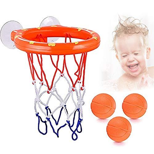 N/D Kinder Badewanne Shooting Basket Spielsachen, Spiele für Kinder Wasserballkorb Lustige Bad Dusche Plastikkorb Nets Cups Spielzeug Lagerung Wasser Basketball-Spiele