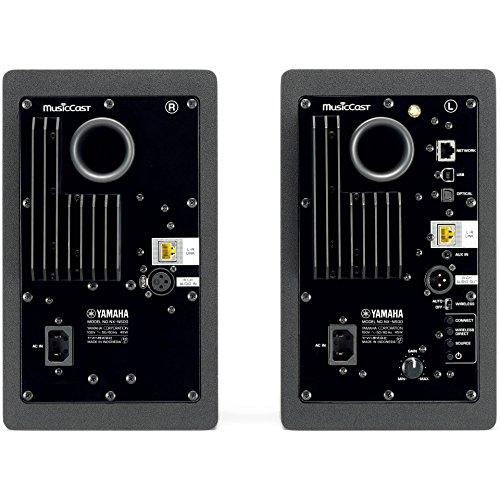 ヤマハネットワーク・パワードスピーカーアンプ内蔵/USBDAC/Wi-Fi/Bluetooth/ハイレゾ音源対応(左右1組)ブラックNX-N500(B)