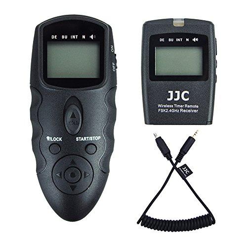 JJC Disparador Remoto Temporizador mandos a Distancia para Nikon D5600 D3300 D5500 D5600 D5300 D750 D7200 D7500 D7100 D7000 D5200 D5100 D5000 D3200 D3100 D610 D600 D90 DF CoolPix P7700 P7800
