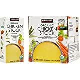 Kirkland Signature Organic Gluten-Free Chicken Stock Reasealable Cartons: 6-Count (32 fl oz.)