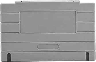 Tangxi 5PCS Cartridge Shell for SNES SFC Nintendo Game Case Replacement – Grey