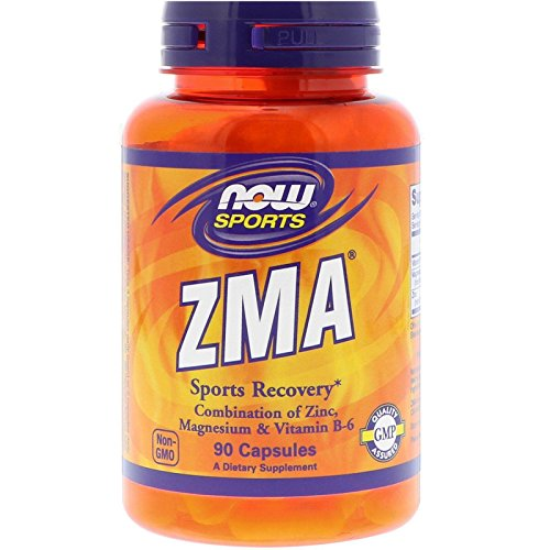 NOW FOODS ZMA 800 Mg Capsules, 90 CT