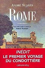 Rome d'André Soarès