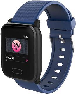 XNNDD Reloj Inteligente Presión Arterial de los Hombres Impermeable para Mujer Reloj Inteligente Podómetro Deportes Gimnasio Rastreador Reloj Polvo
