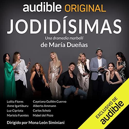 Diseño de la portada del título Jodidísimas