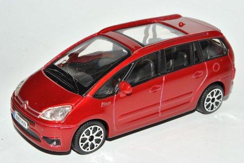 Bburago Citroen C4 Picasso Rot 1. Generation 2006-2013 1/43 Modell Auto