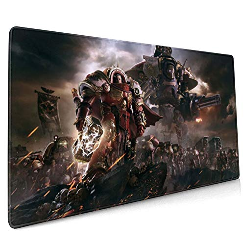 Atoyyre Warhammer 40k Mouse Pad 15.8x35.5 in Anime Mouse Mat Gaming Mouse Pad (40x90cm)