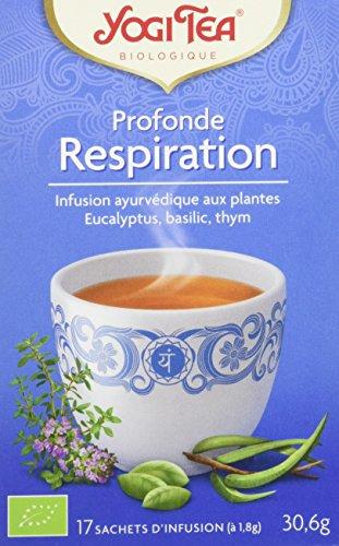 YOGI TEA Yogi Tea Respiration - 17 infusions Bio -