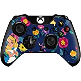 Skinit Decal Gaming Skin Compatible with Xbox One Controller - Officially Licensed Disney Alice in Wonderland Floral Print Design