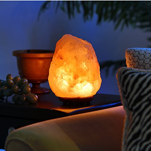 Mineralamp NSL-101 Salt lamp, Medium (8-11 lbs), Orange and Pink