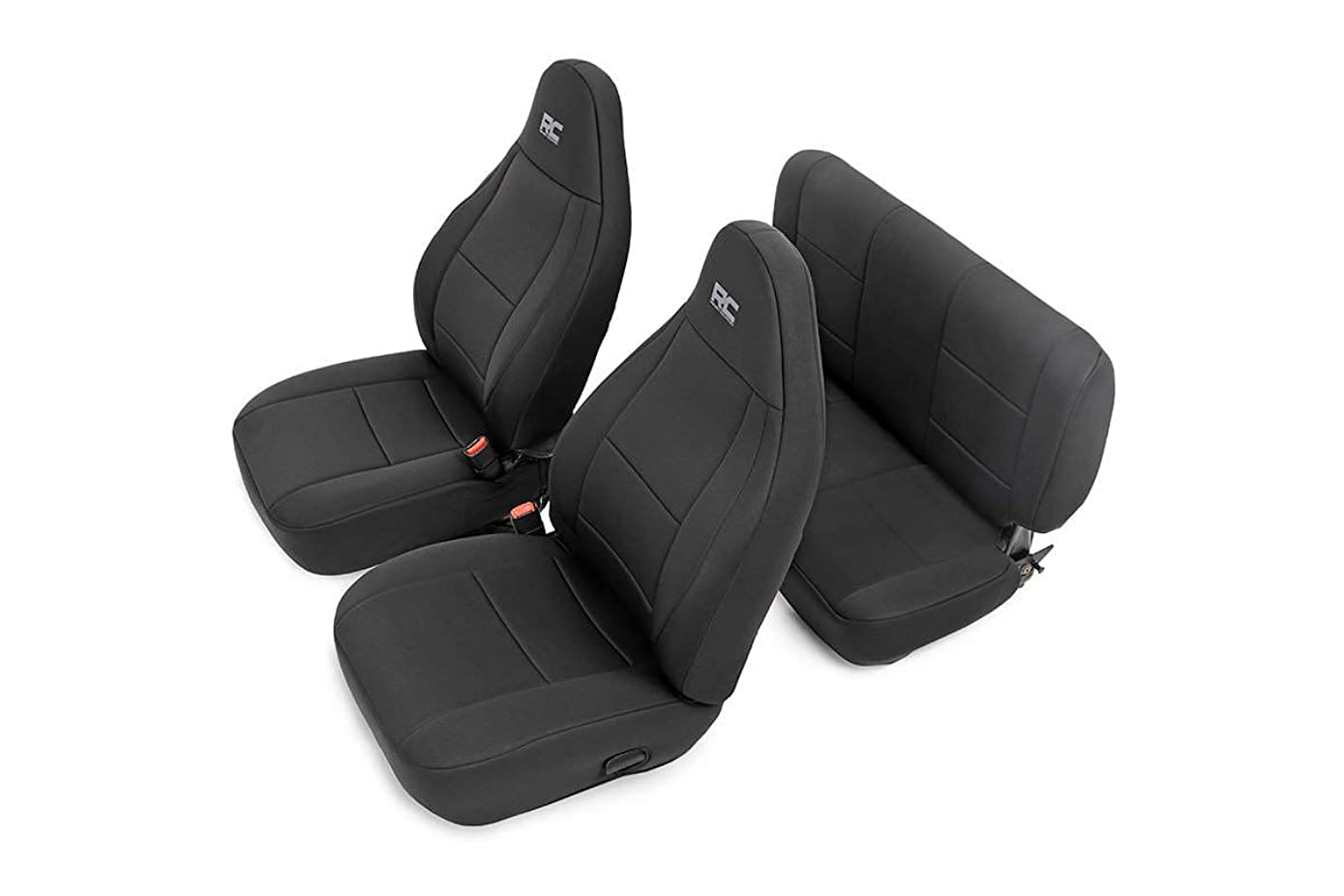 Rough Country 91001 Black Neoprene Seat Cover