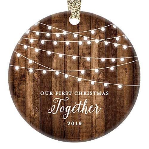 Our First Christmas Together 2019 Gifts Couple Engaged...
