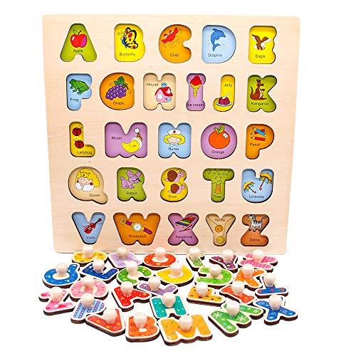 Nuheby Juguetes Montessori Puzzles Infantiles 3 4