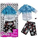 Mattel Set Hawaii Style   Ken Mode   Barbie FXJ36   Vêtements de Poupée