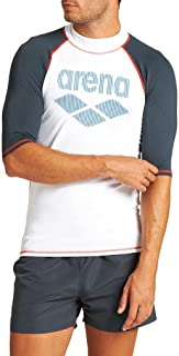 Arena Men's M Rash Vest S/S Rash Guard Shirt