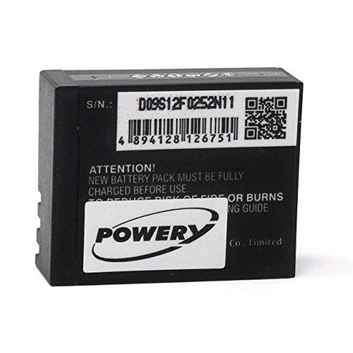 Akku für Action-Kamera Activeon CX Gold, 3,7V, Li-Polymer
