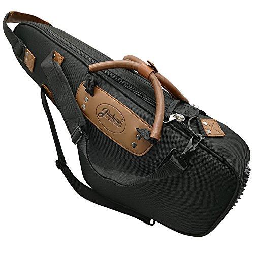 Xinlinke Tasche für Altsaxophon, weiches Saxophon, 1200 D Oxford-Gewebe, 15 mm gepolsterter Tragerucksack