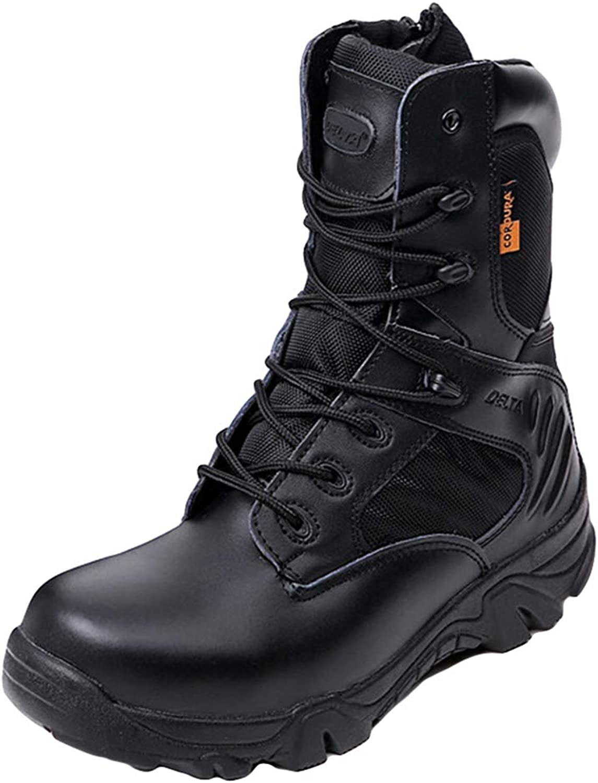 Herren Tactical Military Stiefel Schwarz Patrol Cadet Special Forces Stiefel Stiefel Desert Combat Army Outdoor Sports Wanderschuhe  Kostenlose Lieferung und Rückgabe