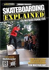Skating instructor Dan MacFarlane Contains fully illustrated segments on street and ramp skating, boardslides, pop shoves, ollies, nollies, frontside flips, noseslides, varial kickflips, heelflips, backside flips, and more