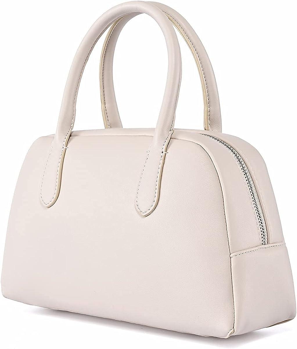 Small Handbags for Women Classic Zip Top Handle Hobo Satchel Bag Tote Shoulder Purse