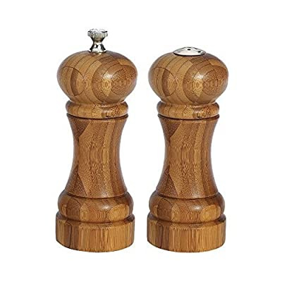 William Bounds Bamboo Mill and Shaker Set, 5 inch -- 1 each. by William Bounds from William Bounds