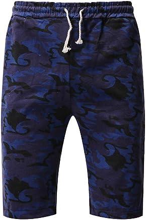 Huaa Athletic, Men Pants Fashion Men Casual Loose Patchwork Pocket Jogger Pant Trouser Overalls Pencil Pants