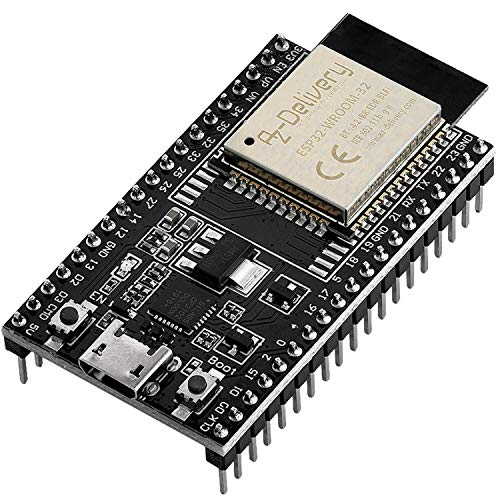 AZDelivery ESP32 Dev Kit C V4 NodeMCU WLAN WiFi Development Board inklusive E-Book! (Nachfolger Modul von ESP32 Dev Kit C)