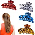 4-Pack Fiyace Large Hair Claw Clips