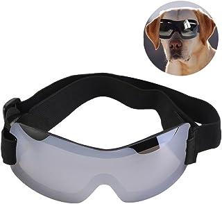 Smandy Gafas de Sol para Perros, Gafas de Sol de protección UV a Prueba de Agua de Moda para Mascotas, Cachorro de Perro(Bronceado)