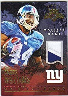 2015 Panini Gridiron Kings Masters of the Game Prime Jersey Patch /49 #24 Andre Williams NY Giants