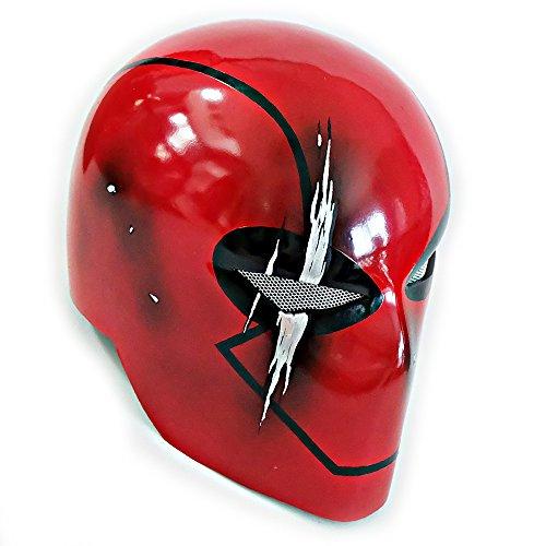 Custom Jason Todd Red Hood Helmet Wearable Halloween Costume Cosplay Movie Prop Mask Gift MA190