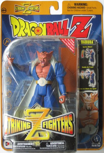"Dragonball Z - Striking Z Fighters 5"" DABURA ACTION FIGURE - IRWIN TOYS image"