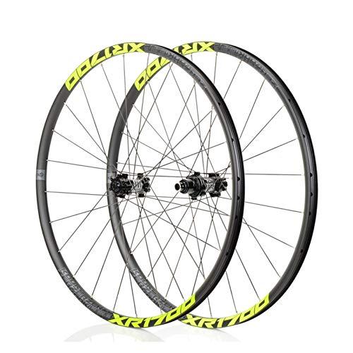 Mountain Bike 26/27,5 Pouces VTT Roues, Classique VTT, Route Racing Jantes en Alliage, NBK F2 / R4, système de 6Pawls, Convient for Les vélos de Route, Course VTT (XR1700)