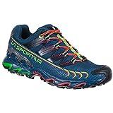 LA SPORTIVA Ultra Raptor Woman GTX, Zapatillas de Trail Running Mujer, Opal/Hibiscus, 38.5 EU