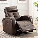 Best Electric Recliners - ANJ Electric Recliner Chair Oversize Breathable Bonded Leather Review