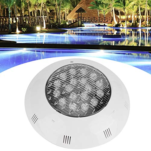 Gransun RGB Pool Light, LED Pool Light Bulb, AC 12V 7 Color Moisture-Proof Waterproof for Swimming Pool Garden Landscape