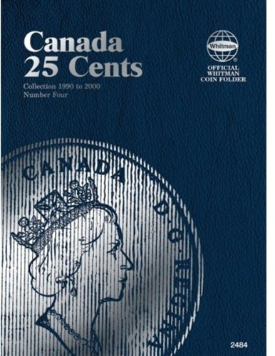 Canadian 25 Cents, 1990-2000, No. 4