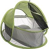 Cuna de viaje plegable Bieco 37000100 Pop up Baby con protección contra los rayos UVA y contra insectos, aproximadamente 92 x 73 x 64cm