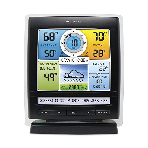 AcuRite 06016 Add-On Display for 5-in-1 Weather Sensors ...