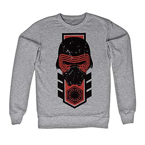 Officiellement Marchandises sous Licence Kylo Ren Distressed Sweatshirt (Gris), Large